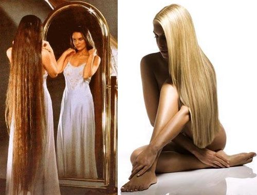 Длинные волосы за неделю в домашних условиях