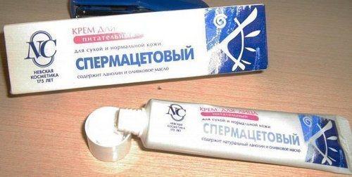Спермацетовый крем при ожогах