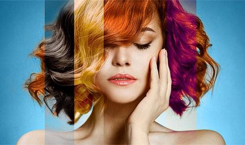 Нестандартный цвет волос