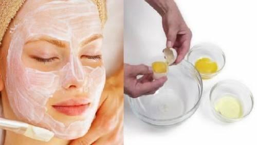 маски из белка яйца для лица