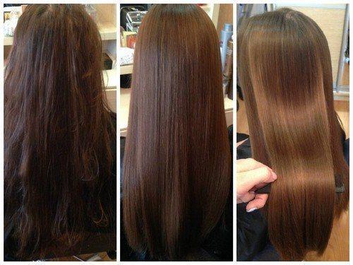 Ботокс для волос без утюжка отзывы