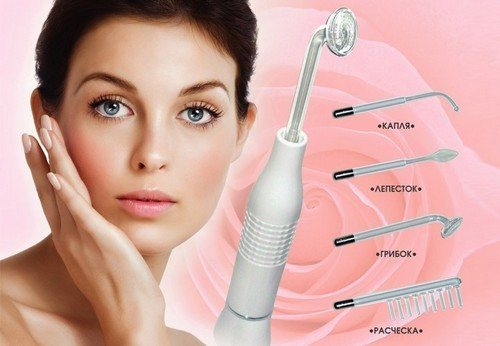 Аппарат для лица и волос дарсонваль