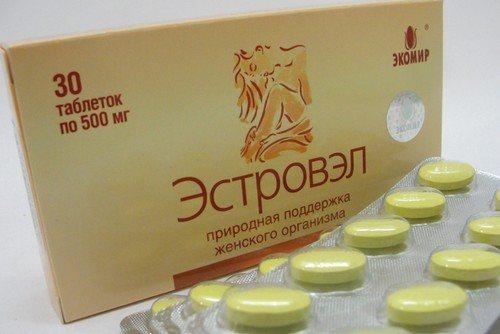 Эстровэл при климаксе - лекарство отзывы инструкция по применению цена аналоги