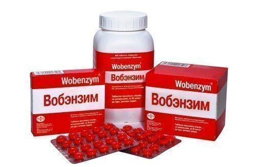 Вобэнзим в гинекологии: показания для назначения, применение таблеток