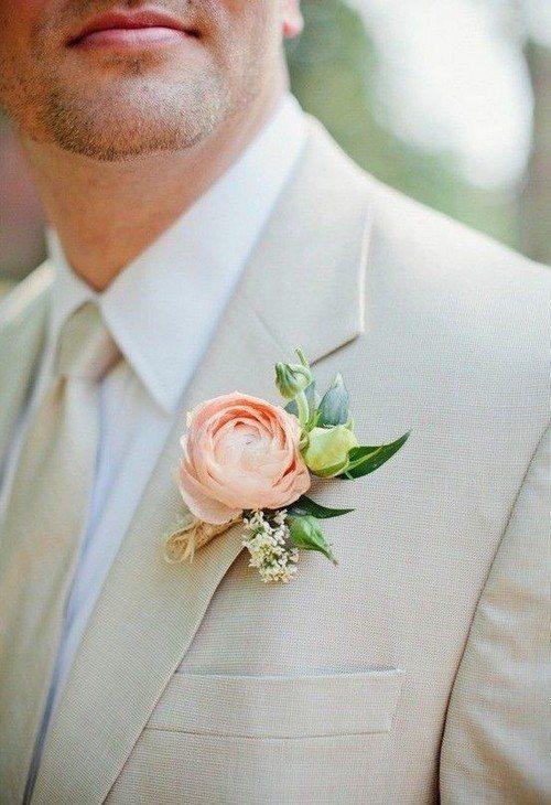 роза в наряде мужа