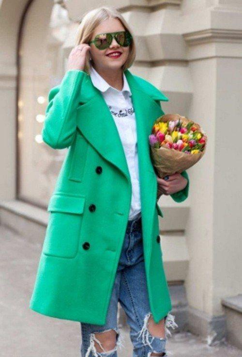 Цвет пальто