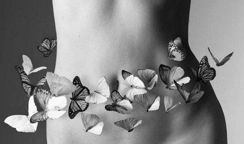 Бабочки в животе
