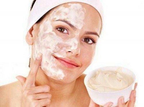Питательная маска для сухой кожи