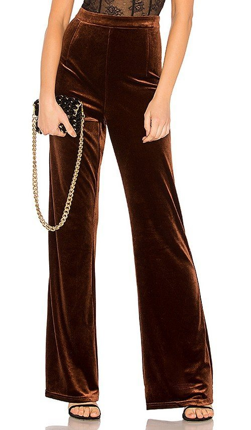 Велюровые брюки