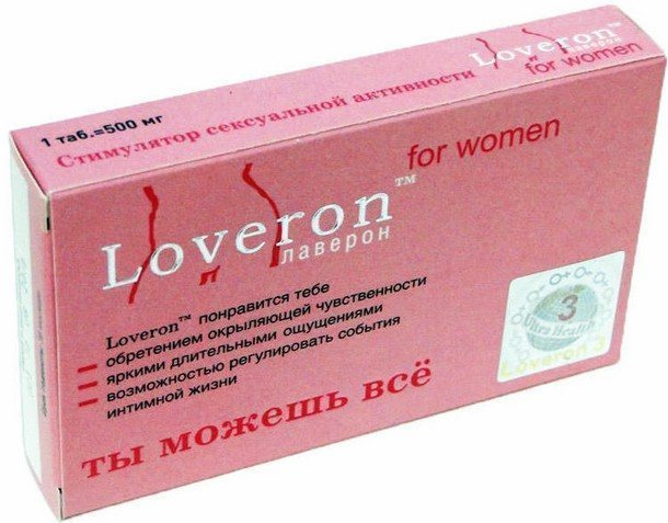 таблетка Loveron