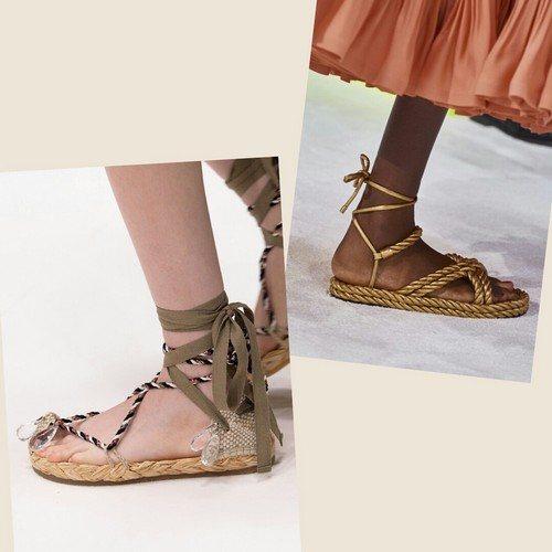 Обувь с завязками