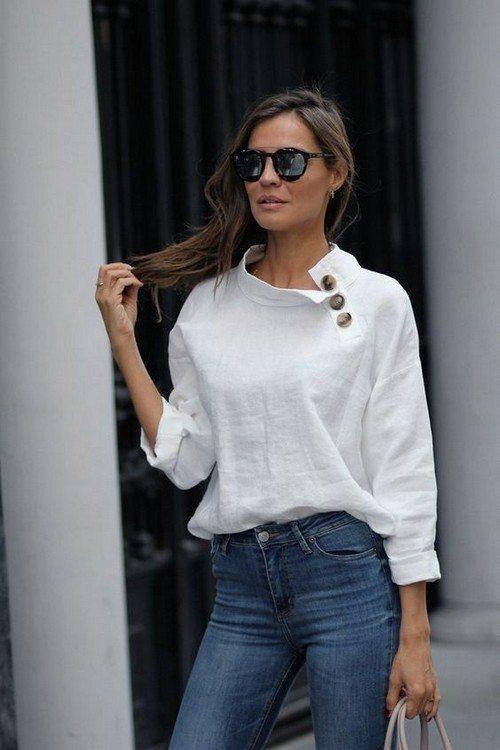 асимметричная блуза