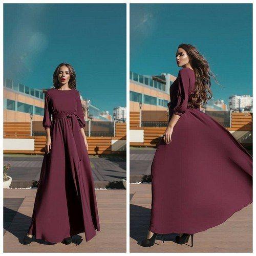 верх платья