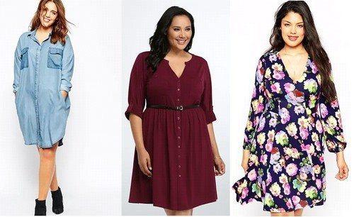 удачные модели платьев