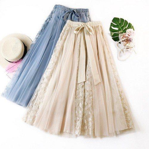 юбка с декором