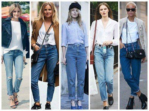 джинсы-мом