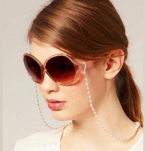 очки с цепочкой