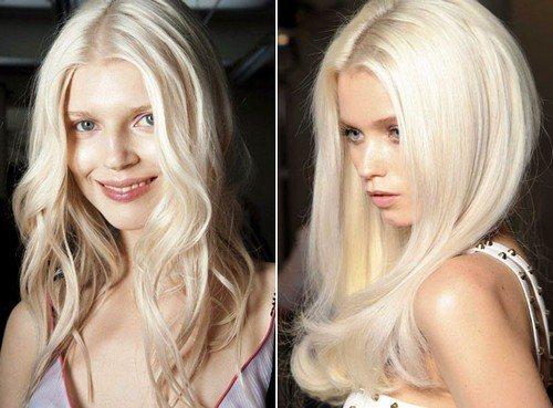 блонд лето 2020