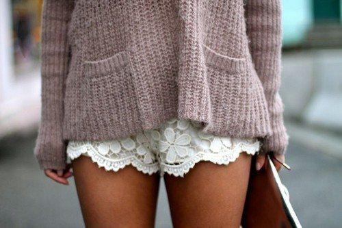 шорты с кофточкой
