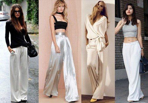 выбор длины брюк
