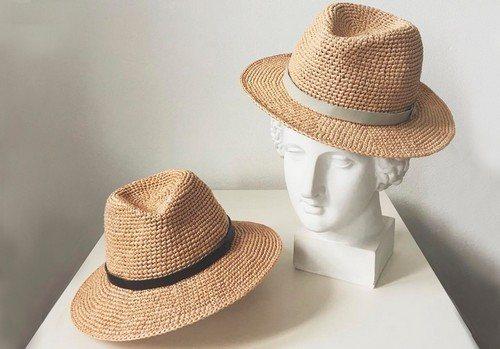 Шляпы из рафии