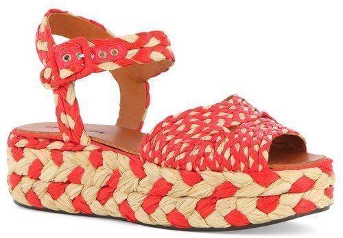 Обувь из рафии