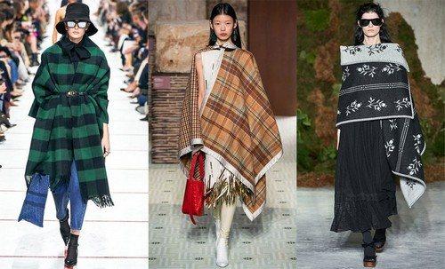 платья-одеяла на показе мод