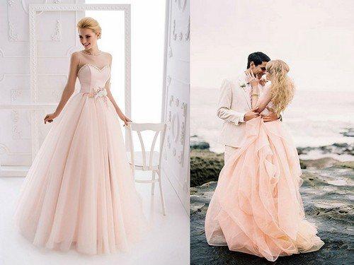 платье в нюдовой гамме цветов