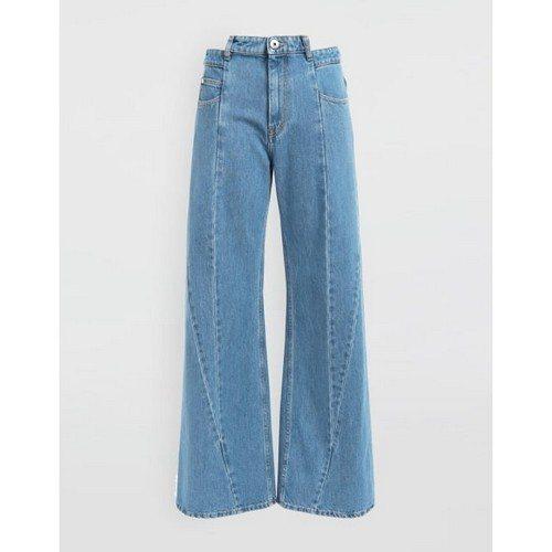 Передний шов брюк