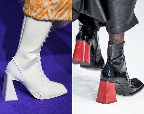 изогнутые каблуки