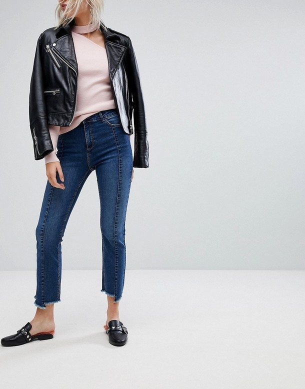 джинсы со швами