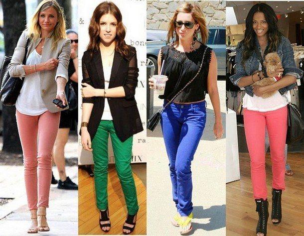 модные цвета брюк