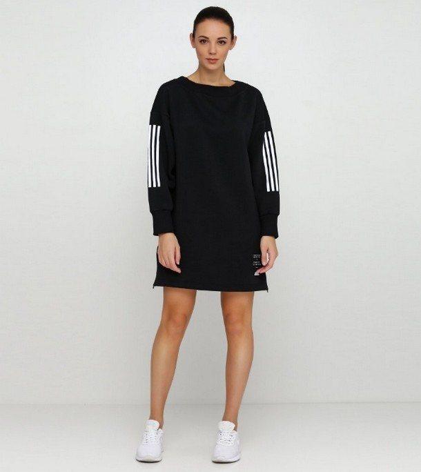модное спортивное платье