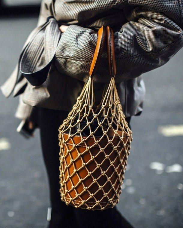 плетеная авоська
